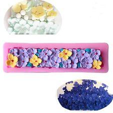 Flower Silicone Fondant Mold Cake Decorating Chocolate Sugar Craft Baking Tools