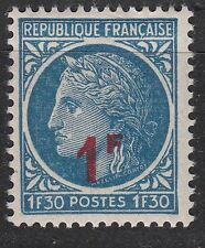 FRANCE TIMBRE NEUF N° 791 **  TYPE CERES DE MAZELIN SURCHARGE