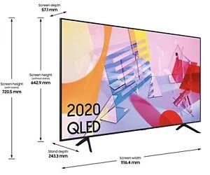 Samsung QE50Q60T 50 Inch 4K Ultra HD HDR Smart WiFi QLED TV - Black