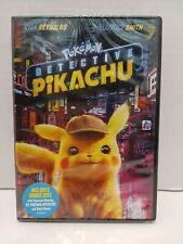 Pokémon Detective Pikachu (DVD, 2019) - Sealed