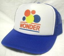WONDER BREAD Ricky Bobby Talladega Nights Hat Cap Trucker hat blue