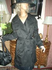 LUXUS COUTURE Roberto CAVALLI at H&M Trenchcoat MANTEL schwarz gold 36/38 US 6 8