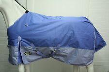 AXIOM 5'6 1800D VIOLET/GREY BLUE SUPER TOUGH 300G HORSE RUG