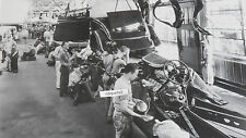 "1934 Ford assembly line, body to frame 12X18"" Black & White Picture"