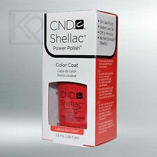 CND Shellac Soak-Off Gel Color Polish Lobster Roll - 7.3 mL / 0.25 fl oz - 09943
