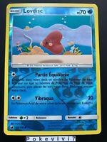 Carte Pokemon LOVDISC 44/168 REVERSE Soleil et Lune 7 SL7 FR NEUF
