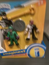 Fisher Price Imaginext DC Super Friends The Riddler and Two Face New