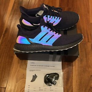 Mi Adidas Ultra Boost XENO MENS AC8067 LEGEND INK Blue Black White Size 12 US