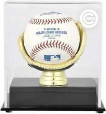 Chicago Cubs Gold Glove Single Baseball Logo Display Case - Fanatics