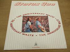 "Status Quo – The Anniversary Waltz Vinyl 12"" Single UK 1990 VERTIGO - QUO 2812"