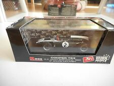 Brumm F1 Formula 1 Cooper T53 GP England 1960 in Green on 1:43 in Box