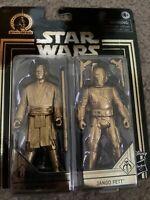 💥STAR WARS Skywalker Saga Commemorative Edition Gold MACE WINDU & JANGO FETT💥