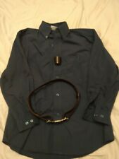 Scout Shirt xs - 12yrs + - woggle and belt. Used