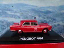 1/43  Norev   Peugeot 404 Fire