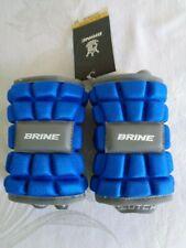New listing New (2) Brine Clutch EP Lacrosse Arm Pads CEP15-RLM Blue Medium FREE SHIP
