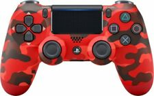 Official Sony DualShock 4 Wireless Controller for PlayStation 4 - Red Camouflage