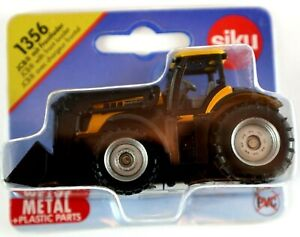 Siku 1356 JCB with FRONT LOADER Diecast Metal and Plastic Parts ages 3+ NEW