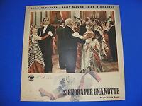 W Fotobusta Original Signora per Una Notte John Wayne Blondell Middleton 16