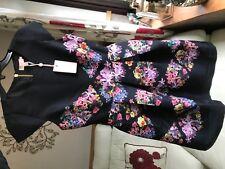 Ted Baker Lost Gardens diamond Skater Dress size Ted 1 bnwt