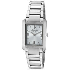 KENNETH COLE NY CLASSIC SLIM BLUE DIAL STAINLESS STEEL LADIES WATCH KC4584 NEW
