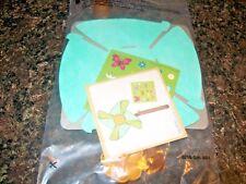 Wendy's Camp Wannago Pinwheel Craft - Make A Pinwheel Kids Meal Toy NIP