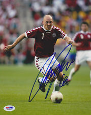 Thomas Gravesen SIGNED 8x10 Photo Denmark *VERY RARE* PSA/DNA AUTOGRAPHED