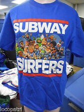 Youth Licensed Subway Surfers Shirt New Size M (8)