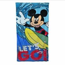 Boys & Girls Mickey Mouse Bath Towels & Flannels for Children