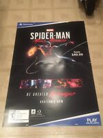 Spiderman Miles Morales Poster Spider-Man Poster PlayStation 4 Marvel Ps5