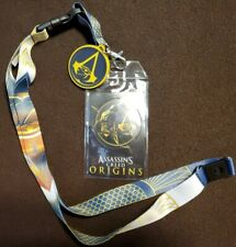 Assassins creed LANYARD ID Badge Holder with stickers
