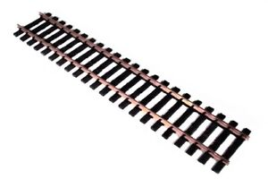 Zenner Bausatz 1 gerades Gleis der Spur 2(64mm) Regelspur, 60cm, + Schraubverbin