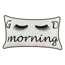 Good Morning Kissen  myBUBO Dekokissen Kissenhülle/Kissenbezug, Kinder Kissen Zi