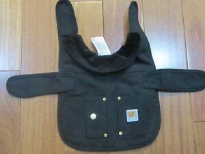 Carhartt Chore Coat, Dog Vest, Wind & Water Resistent, Black size S