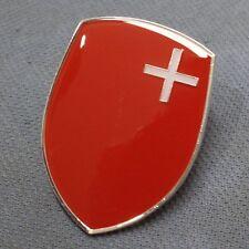 Schwyz VW Volkswagen Hood Crest split kdf okrasa bug Zwitter Swiss Switzerland