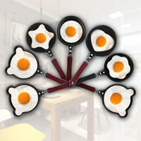 Cartoon Mini Egg Pancake Frying Pan NonStick Omelette Breakfast Kitchen Cookware