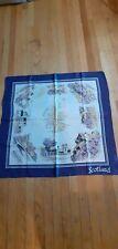 Vintage souvenir scarf scotland
