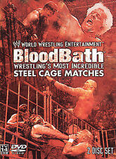 WWE - Bloodbath (DVD, 2003, 2-Disc Set, Two Disc Set)