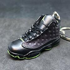 1363fedb9ab Air Jordan XIII 13 Retro Altitude Black OG Sneaker 3D Keychain Figure+Shoe  Box