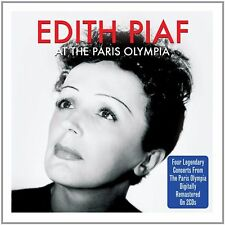 Edith Piaf AT THE PARIS OLYMPIA 1956-1962 Live REMASTERED New Sealed 2 CD