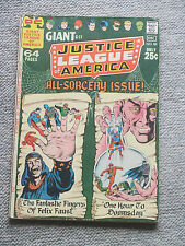 JUSTICE LEAGUE OF AMERICA 85 1970 GIANT SIZE - Superman Batman Green Lantern