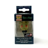 Funko Pocket Pop! Keychain Rick And Morty Krombopulos Michael GameStop Exclusive