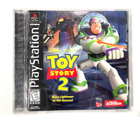 Toy Story 2: Buzz Lightyear to the Rescue SONY PLAYSTATION 1 PS1 Game COMPLETE