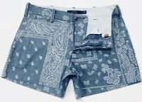 Polo Ralph Lauren Women's Shorts In Bandana Print