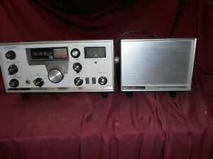 National NCX-5 with speaker/power supply.