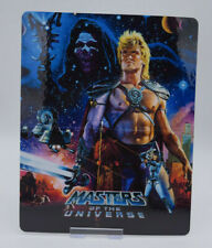 MASTERS OF THE UNIVERSE he-man - Bluray Steelbook Magnet Cover (NOT LENTICULAR)