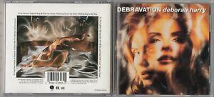 Debbie Harry - Debravation  (CD, Aug-1993, Warner Bros.) BLONDIE