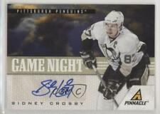 2011-12 Pinnacle Game Night Signatures /25 Sidney Crosby #1 Auto