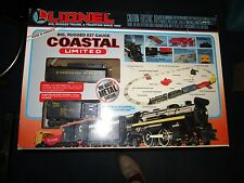 LIONEL 027 guage Coastal Limited Freight Train Set Die-Cast Metal Engine