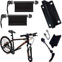 Alloy(Pair) Bicycle Bike Fork Mounts Blocks Quick-Release H/ Duty Roof Rack MTB