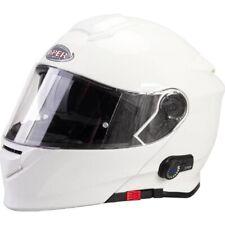 VIPER V171 Bluetooth Motorradhelme Klapphelm Flip-up PINLOCK bereit Touren Helm